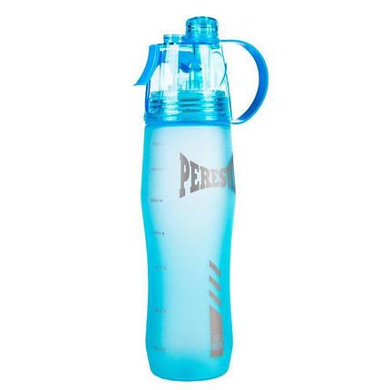 Спортивная бутылка с распылителем Peresvit 2xCool Sport Bottle Frosty Blue, фото 2