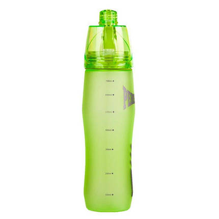 Спортивная бутылка с распылителем Peresvit 2xCool Sport Bottle Dew Green, фото 2