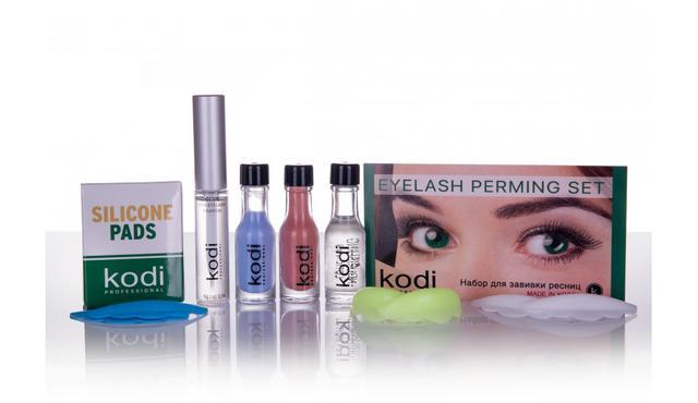 Продукция Kodi Professional для бровей и наращивания ресниц