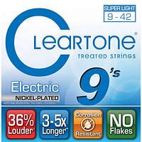 Струны для электрогитары Cleartone 9409 Electric Nickel-Plated Super Light (.09 - .42)