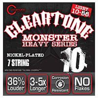 Струны для электрогитары Cleartone 9410-7 Electric Heavy Series Nickel-Plated Light (.10 - .56)