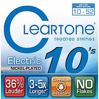 Струны для электрогитары Cleartone 9420 Electric Nickel-Plated Light Top / Heavy Bottom (.10 - .52)