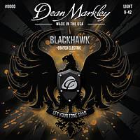 Струны для электрогитары Dean Markley 8000 BlackHawk Electric LT (.09-.42)