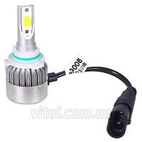 Светодиодные лампы для автомобильных фар PULSO LP-96364, С6, HB4 9006 P22D, 2*280°COB, 12- 24v36w, 3800Lm, 4300K, автомобильная лампа, лампа для авто