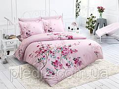 Комплект постельного белья 200х220 Ранфорс Halley Home Cherry