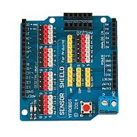 Сенсор-шилд для подключения датчиков для Arduino UNO R3 V5.0