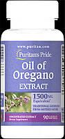 Экстракт масла орегано, Oil of Oregano Extract 1500 mg, Puritan's Pride, 90 капсул
