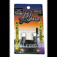 Светодиодные габаритные лампы для автомобильных фар BL Led T8.5 G, Green, автомобильная лампа, лампа для авто