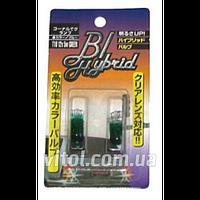 Габаритные лампы для автомобиля BL T10 G, Green, автомобильная лампа, лампа для авто