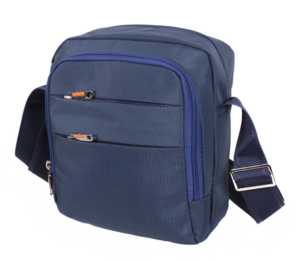 Мужская текстильная сумка M6339-2BLUE синяя