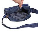 Мужская текстильная сумка M6339-2BLUE синяя, фото 7