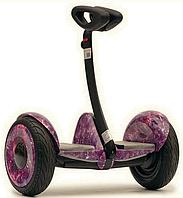 """Гироскутер Robot Ninebot Mini (Monorim) 10.5"""", функция """"Самобаланс"""" Белый Космос Фиолетовый"""