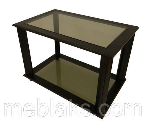 """Журнальный стеклянный стол """"Креон"""" МС-10 для офиса  Антоник, фото 2"""
