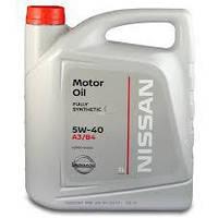Моторное масло NISSAN 5W40 (5л)