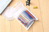 Цветные Гелевые стержни ампулки для ручки 100шт