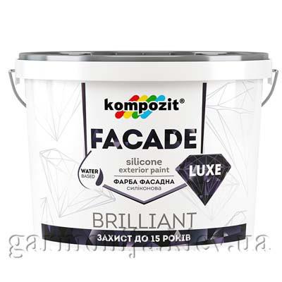 Краска фасадная FACADE LUXE Kompozit, 7 кг
