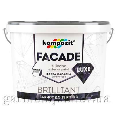 Краска фасадная FACADE LUXE Kompozit, 14 кг, фото 2