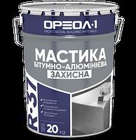 """Мастика битумно-алюминиевая """"Защитная"""", 9 кг"""