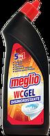 Гель для удаления известкового налета и ржавчины Meglio WC