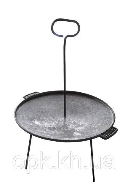 "Сковорода (тарелка) дисковая чугунная ""Булат"" д.430 мм (вес - 6 кг)"