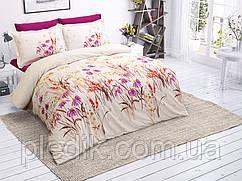 Комплект постельного белья 200х220 Ранфорс Halley Home Flower v2
