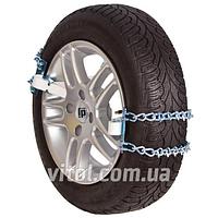 Цепи на колеса для машины MODEL 3 NLE-14, размер NLE-14 кол-во 4 шт, в пластиковом боксе, цепи противоскольжения, техпомощь, цепь на колесо