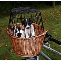 Trixie Сумка-корзина ивовая с решеткой д/велосипеда 44*48*33см на 8кг