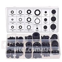 Набор резиновых втулок KR- 6001, кол-во 125 шт, техпомощь, наборы для авто, тех помощь, все для машины