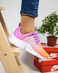 """Женские кроссовки Nike Air Presto """"Violet/Orange"""""""