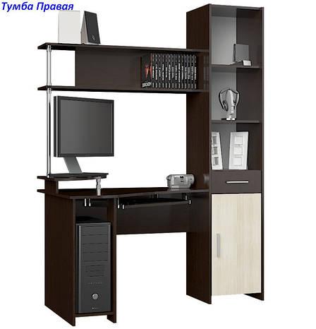 Угловой стол с пеналом Профи, фото 2