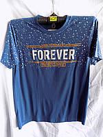 Мужская футболка лето (цвета ассорти) Фабричный Китай оптом