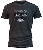 "Оригинальная футболка Top Gun ""Specs-Logo"" Tee TGM1710 (Black), фото 1"