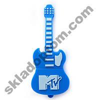 Флешка 8 Gb силиконовая Гитара