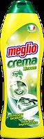 Крем для очистки керамических  поверхностей с ароматом лимона  Meglio Crema Lemon