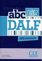 ABC DALF C1/С2 Livre + Mp3 CD+corrigés et transcriptions (учебник для подготовки к экзаменам с CDs)