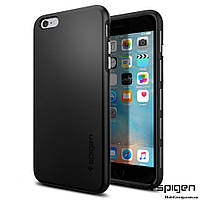 Чехол Spigen для iPhone 6S Plus/6 Plus Thin Fit Hybrid, Black, фото 1