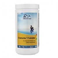 Chemochlor-T-Tabletten (таблетки. 20 г). 1 кг. Медленнорастворимый хлор  для длительного хлорирования.