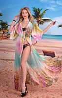 МБ туника пляжная батал,  пляжное платье большого размера