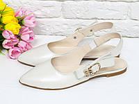 Летние туфли из натуральной кожи 36,37,38,39,40,41, фото 1