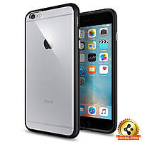 Чехол Spigen для iPhone 6S Plus/6 Plus Ultra Hybrid, Black, фото 1