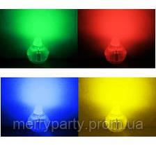 Светодиоды для воздушных шаров мигающие разноцветные