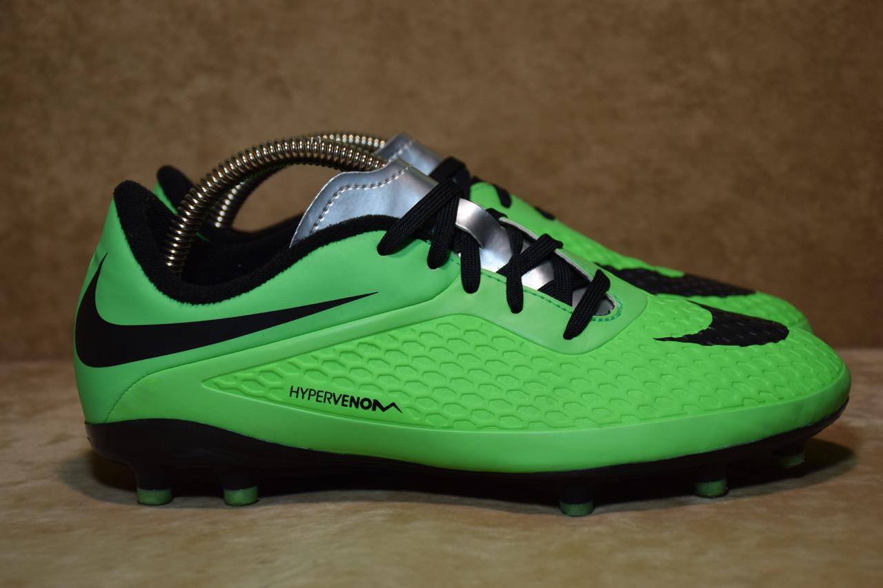 619c7c6d Детские футбольные бутсы Nike JR Hypervenom Phelon FG 599062-303. Оригинал.  37 р