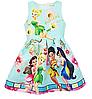 Детское платье с феей Динь-Динь