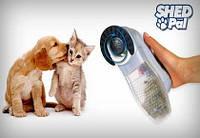 Машинка расческа для вычесывания сбора подшерстка животных Shed Pal Шед Пал