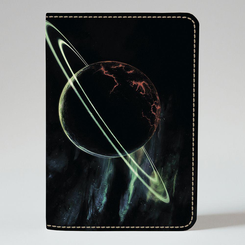 Обложка на паспорт v.1.0. Fisher Gifts 527 Планета Сатурн (эко-кожа)