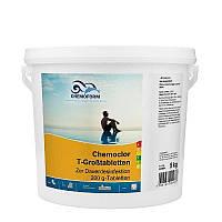 Chemochlor-T-Großtabletten (таблетки 200 г) 5 кг. Медленнорастворимый хлор  для длительного хлорирования.