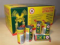Липкая лента от мух Ecostripe оригинал, средство от мух, мухоловка, набор 100 шт