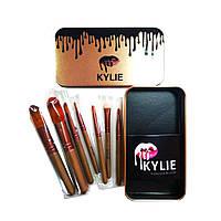 Кисточки для макияжа KYLIE маленькие-7 штук