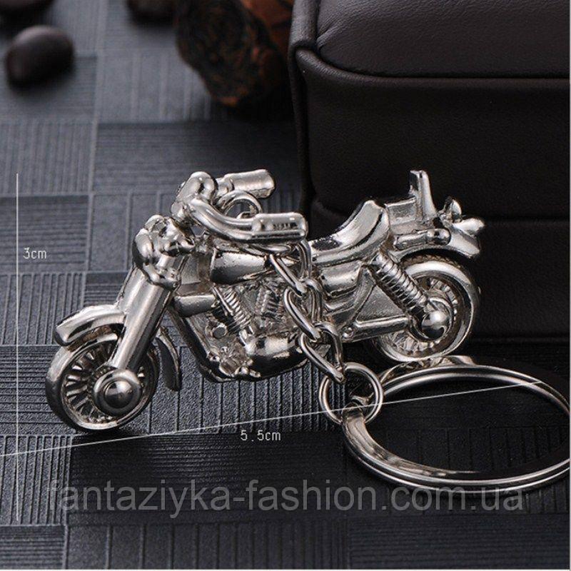 Брелок металлический мотоцикл