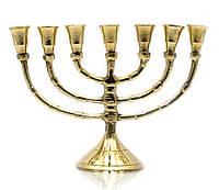 Подсвечник на 7 свечей минора из бронзы